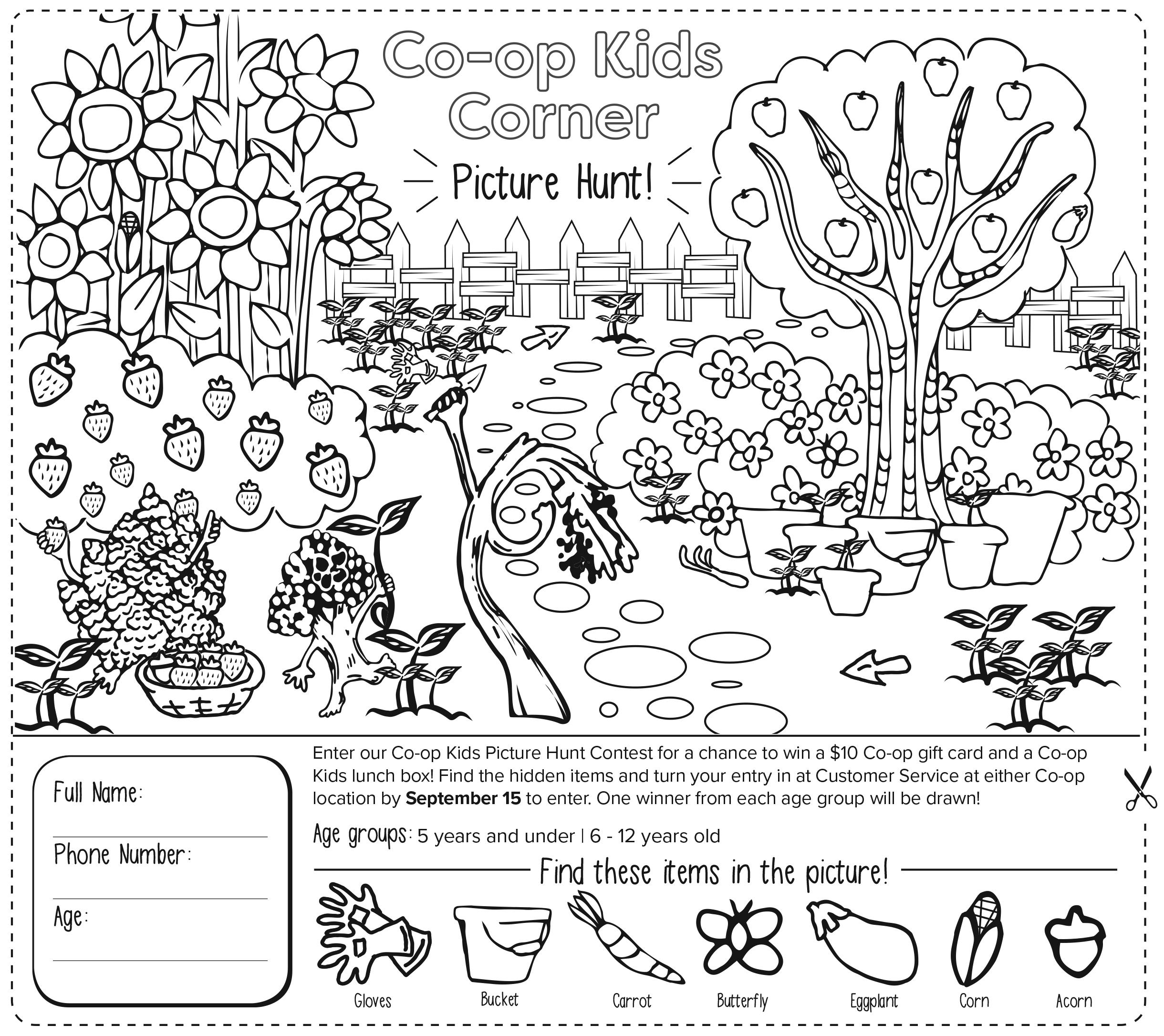 Co-op Kids Corner · North Coast Co-op