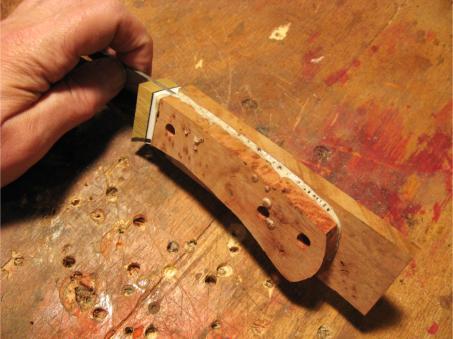 Ca Glue Finish Knife