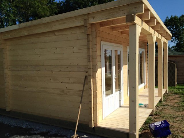 Bespoke 8m X 6m Pent Roof Cabin Cornwall North Coast