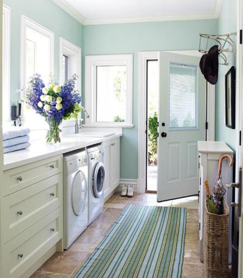 Mudroom must: natural light.