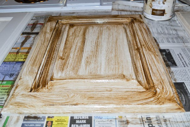 cabinet-door-glaze-step-one