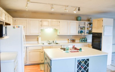 The Kitchen Cabinet Makeover