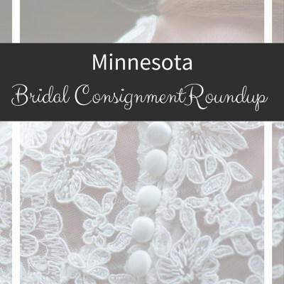 Minnesota Bridal Consignment Roundup