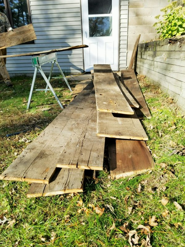 barnwood-pile