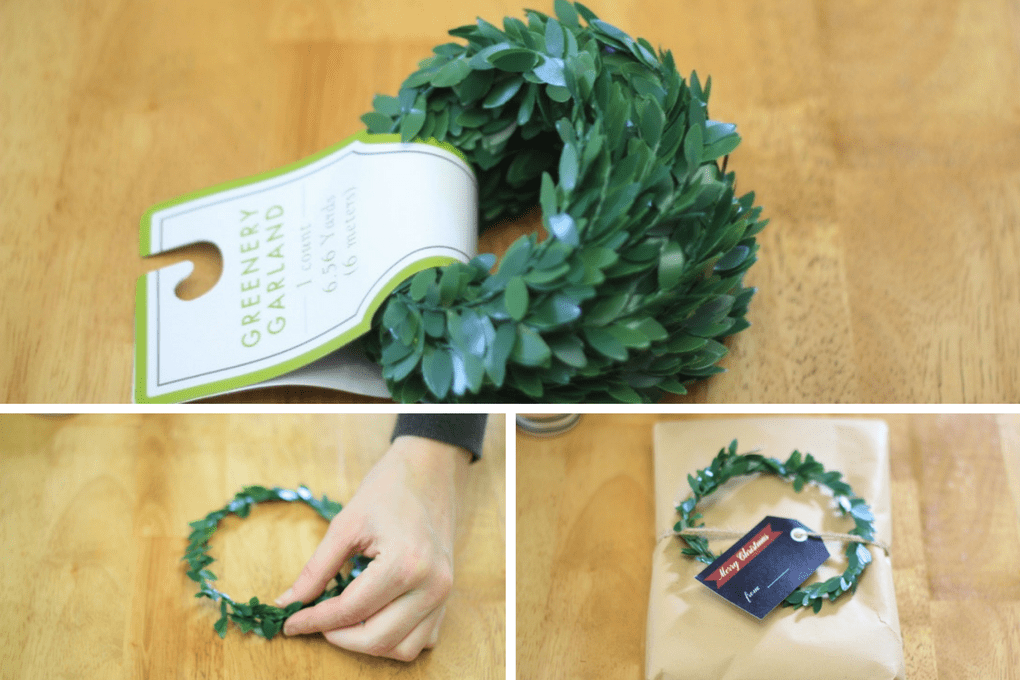 Gift Wrapping with a Wreath