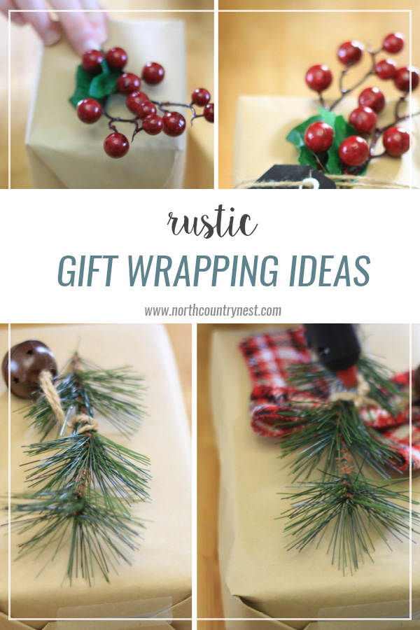 Rustic Gift Wrapping Ideas