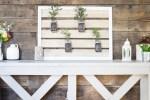 DIY Mason Jar Plant Holder