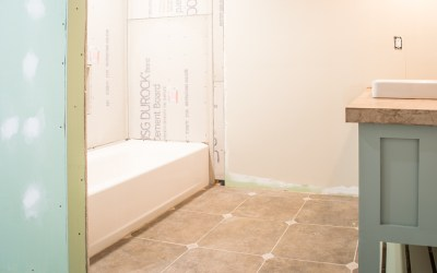 Guest Bathroom Renovation Update