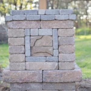 DIY Entrance Pillar
