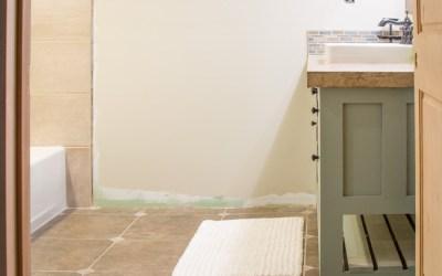 Guest Bathroom Renovation Updates Round Three