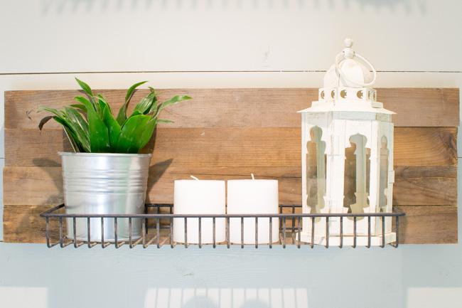 Industrial Reclaimed Wood Shelves