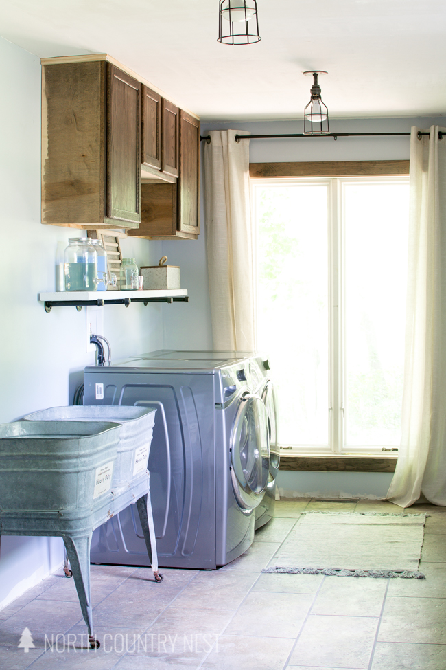laundry room renovation updates