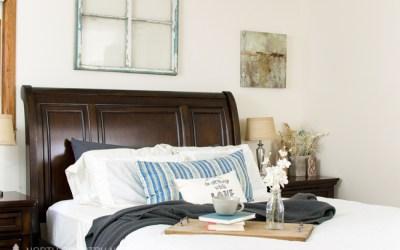Summer Home Tour & Blog Hop: The Master Bedroom