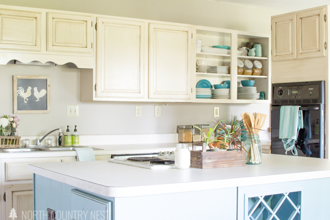 kitchen summer home tour