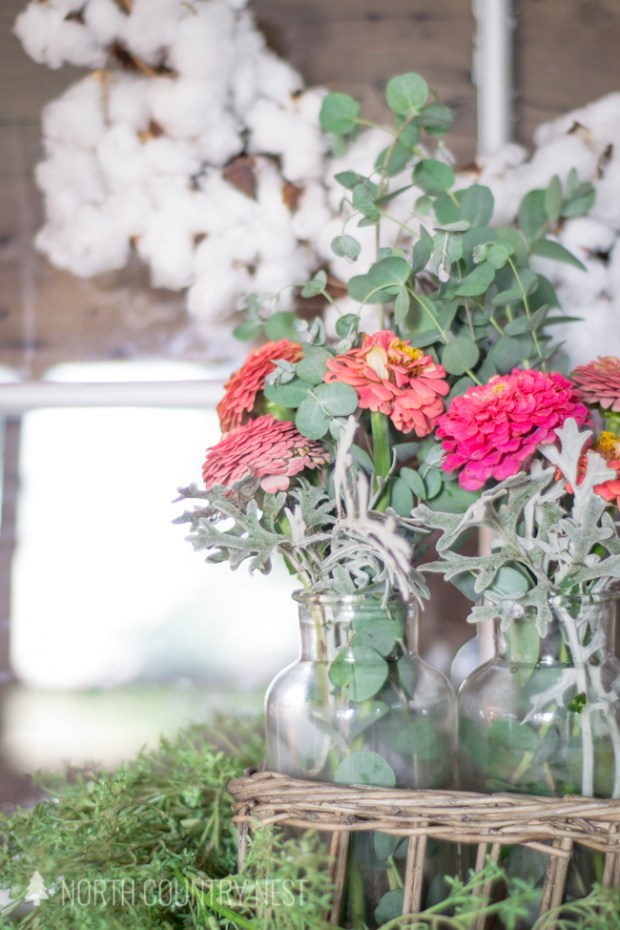 late summer entryway home tour