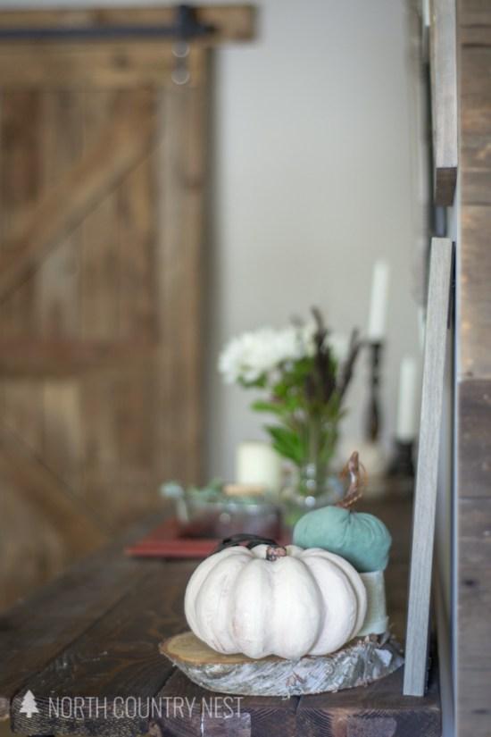 neutral fall home decor tour