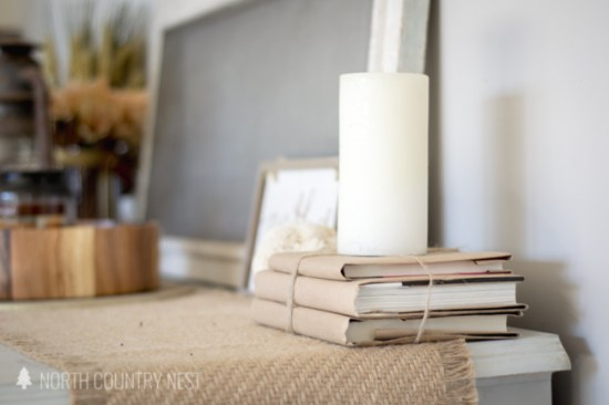 five ways to decorate using books