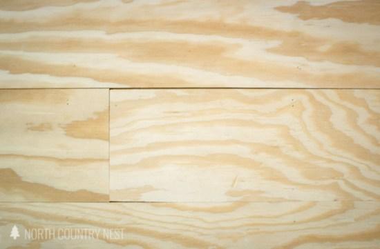 cracks in plywood flooring