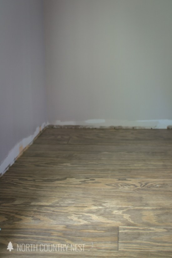 how to install plywood flooring