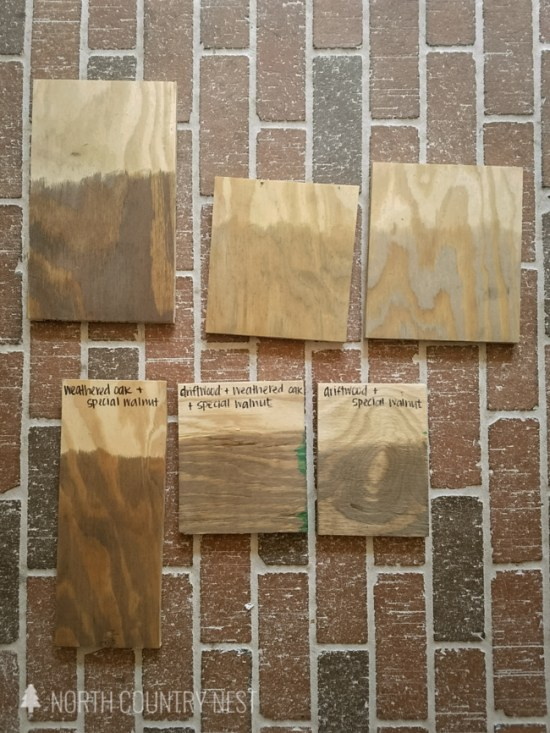 different wood stain colors for plywood flooring