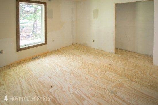 pre-stained plywood flooring, bare wood plywood flooring