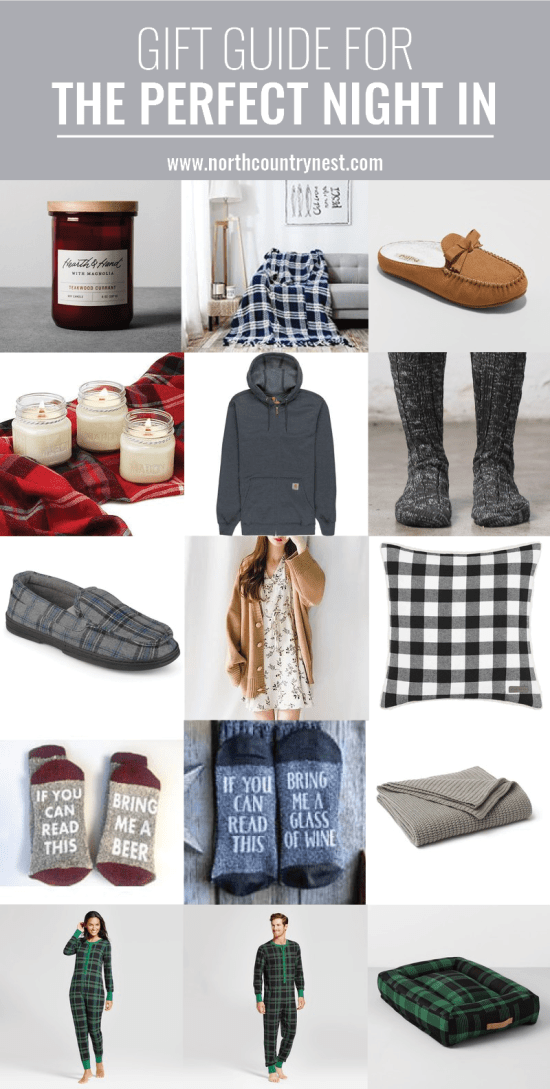 gift guide for the perfect night in