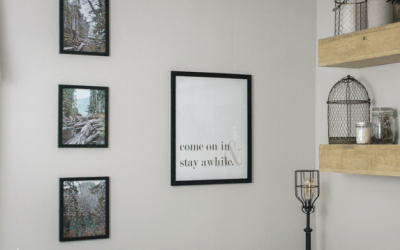 Rustic & Woodsy Gallery Wall Printable