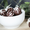 gluten free oreo and cream cheese truffles