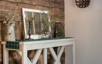 Rustic Winter Entryway Decor for the Minimalist