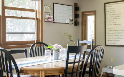 Simple Summer Decor for the Kitchen