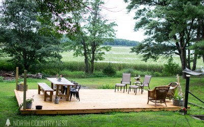 Outdoor Deck Reveal + Decorating for Summer