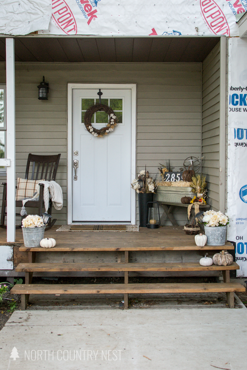 front porch decor