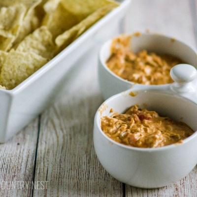 Gluten Free Cheesy Chicken Taco Dip