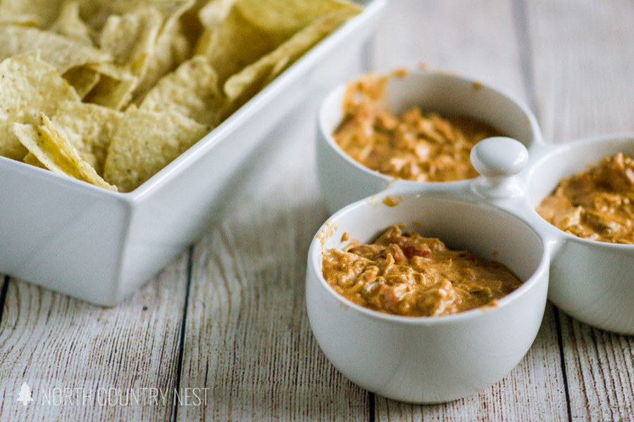 Gluten Free Cheesy Chicken Taco Dip