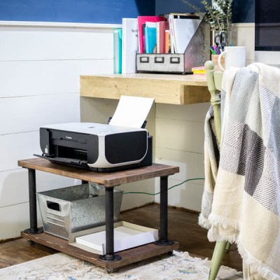 How to DIY a Home Office Printer Cart