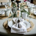 rustic natural holiday tablescape