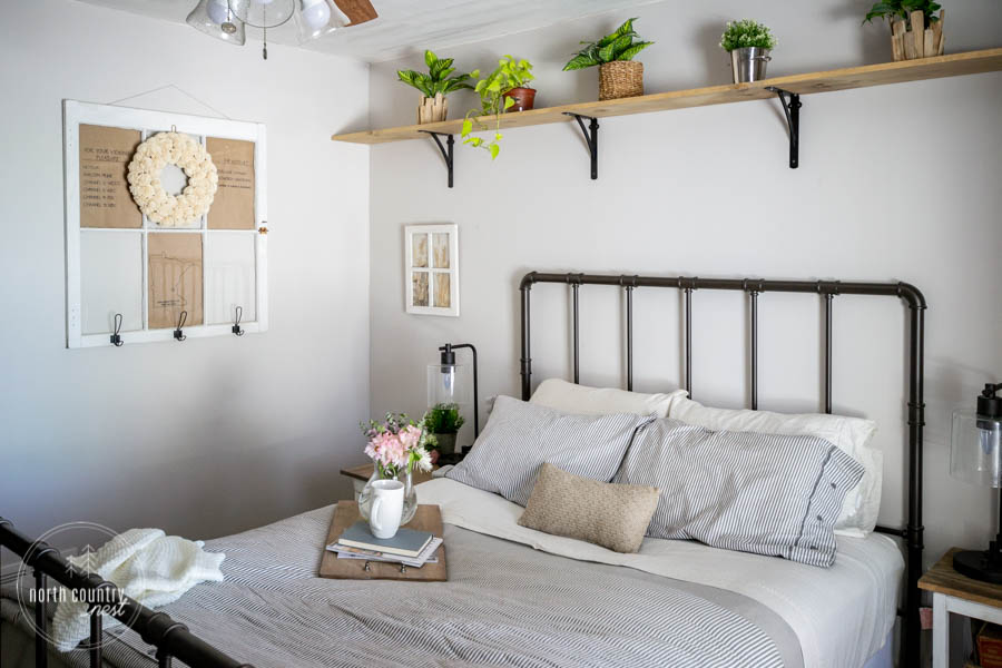 spring bedroom decor