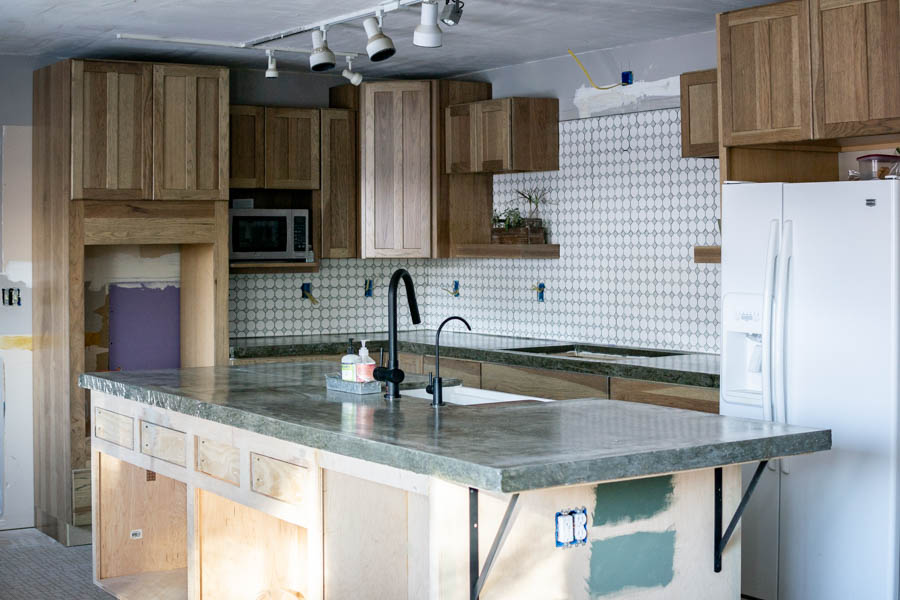 How to DIY a Kitchen Concrete Counter Top