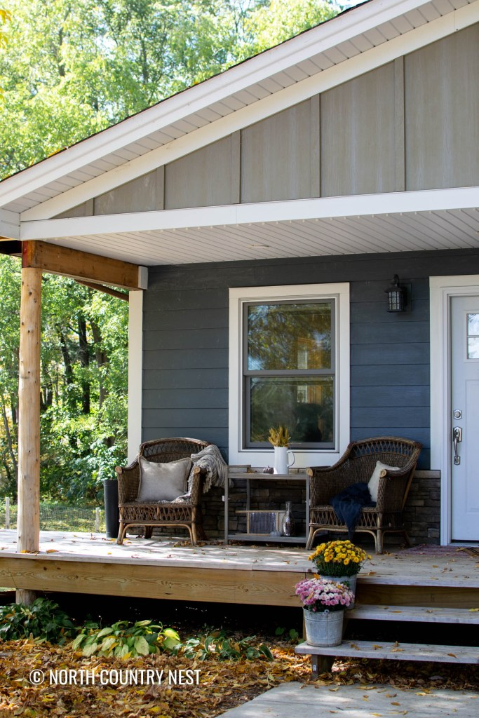 Fall Home Decor Ideas for the Front Porch | North Country Nest