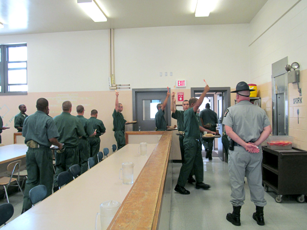 Special report A look inside Moriah Shock Prison  NCPR News