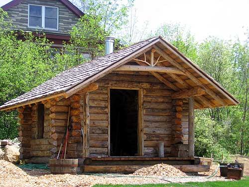 A pintsized log cabin  NCPR News