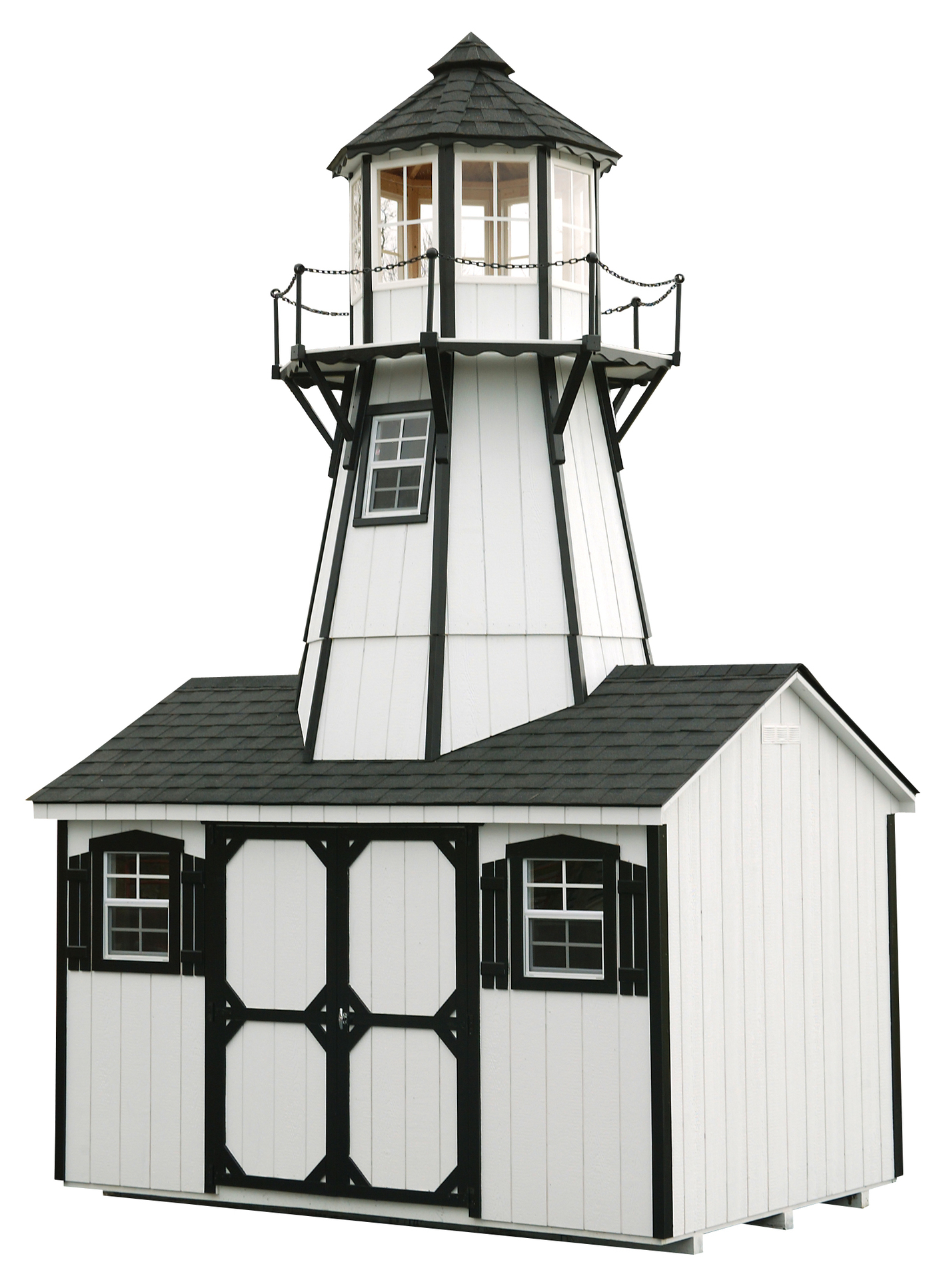 Lighthouse Playhouses  North Country Sheds