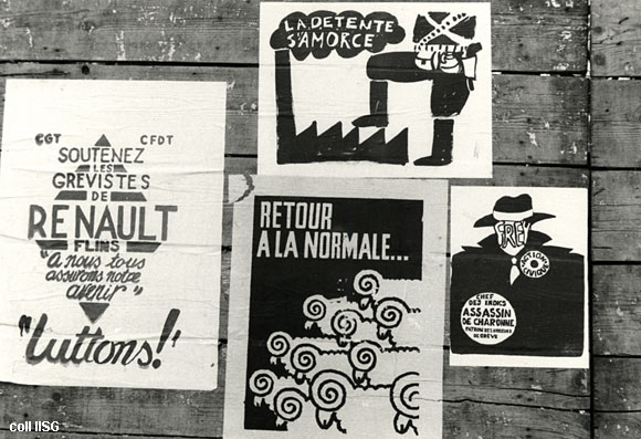 May 1968 Protest Posters