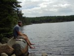 Eddy Pond on Saddleback Mountain; Maine Appalachian Trail hike