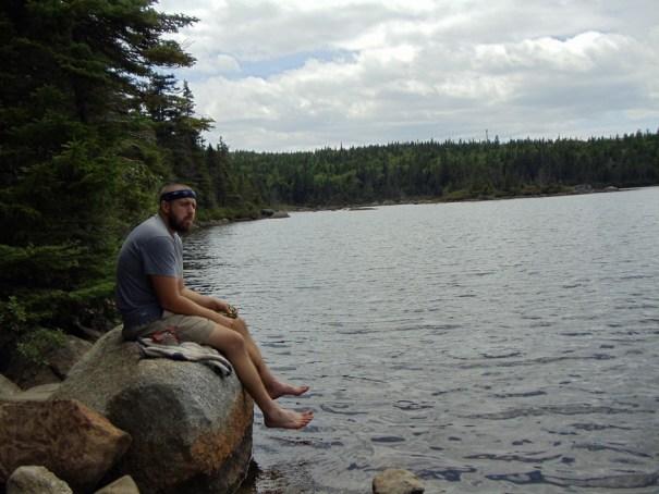 Eddy Pond on Saddleback Mountain; Maine Appalachian Trail hike