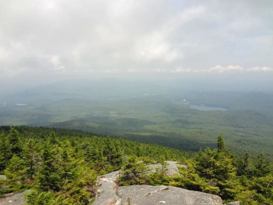 The Barlow Trail above treeline on Mt. Kearsarge