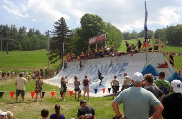 Tough Mudder Boston Everest Obstacle