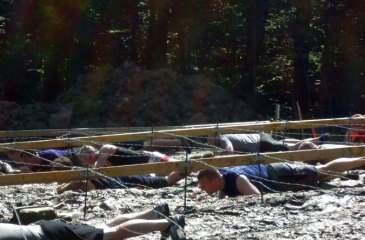 Tough Mudder Boston Kiss of Mud Obstacle
