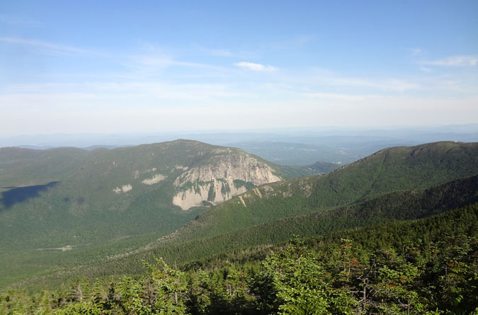 Little Haystack Mountain View of Mt. Cannon