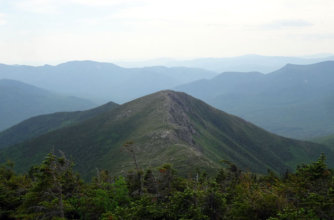 Bondcliff in NH White Mountains